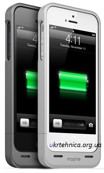 зарядка mophie iphone 5